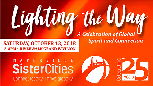 "Naperville Sister Cities ""LIGHTING the WAY"" Event"