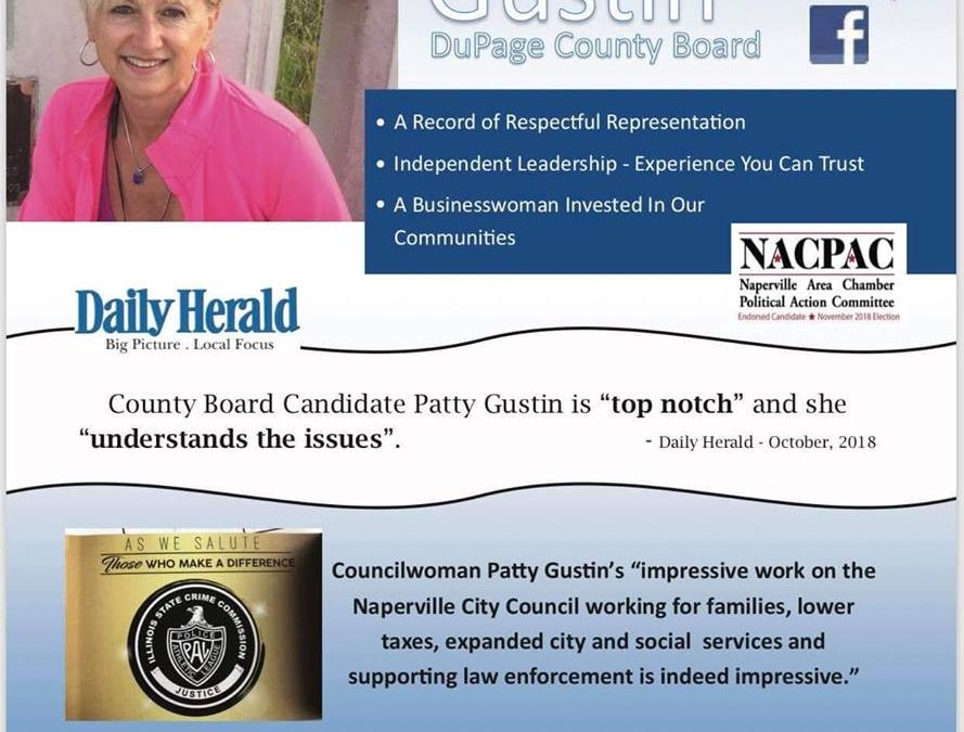 Let Patty be our Next County Board Councilwoman